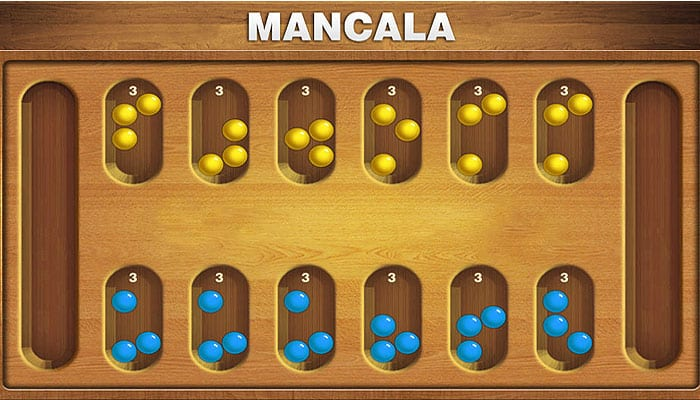 Reglas del juego Mancala
