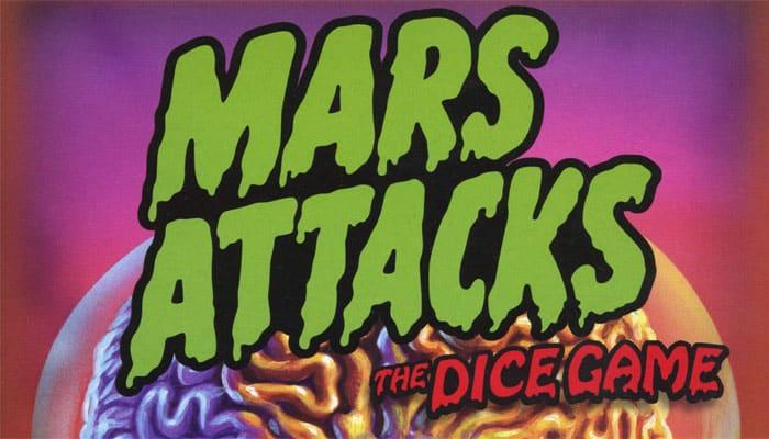 Mars Attacks: The Dice Game Reglas del juego