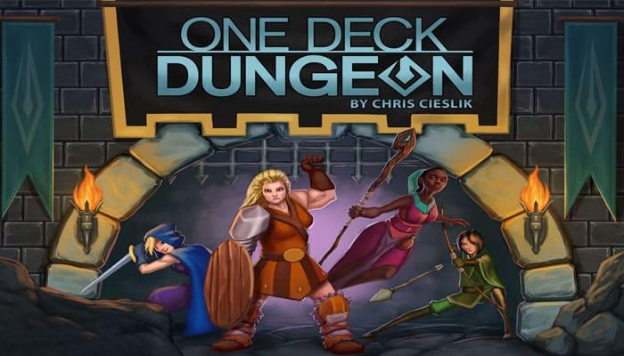 Reglas del juego One Deck Dungeon