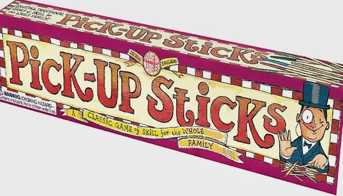 Reglas del juego Pick Up Sticks