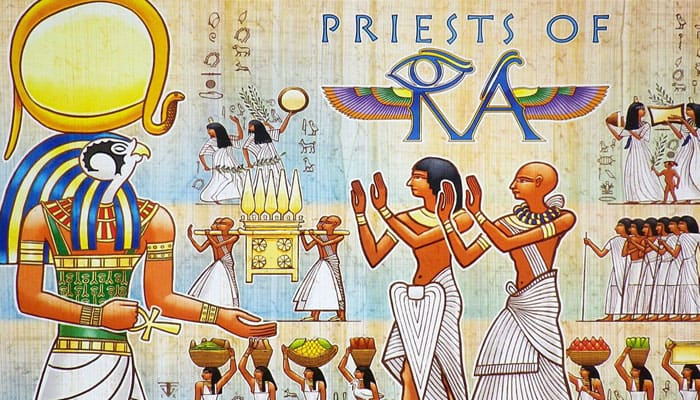 Reglas del juego de Priests of Ra