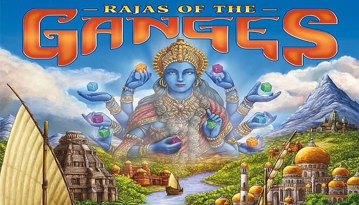 Reglas del juego Rajas of the Ganges