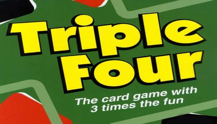 Reglas del juego Triple Four