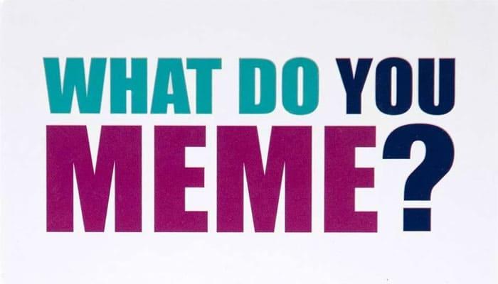 ¿Qué haces Meme? Reglas del juego