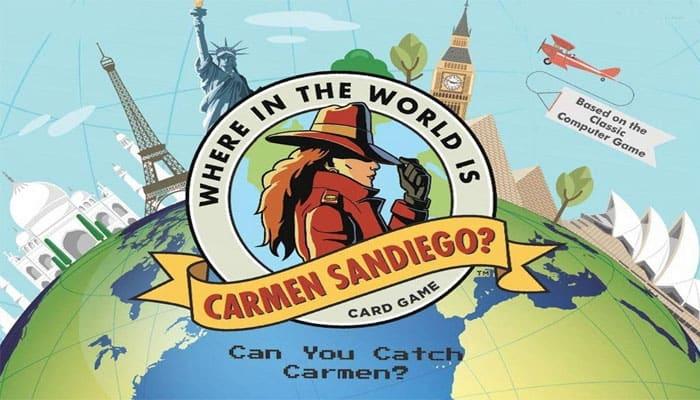 ¿Dónde en el mundo está Carmen Sandiego? Reglas del juego