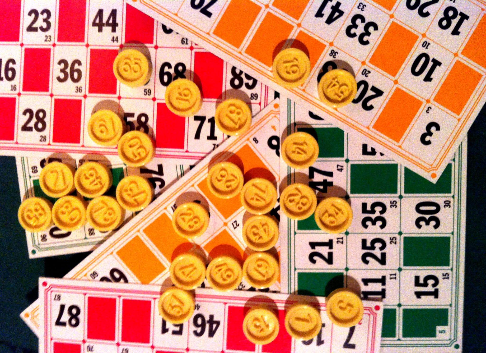 Regla del bingo