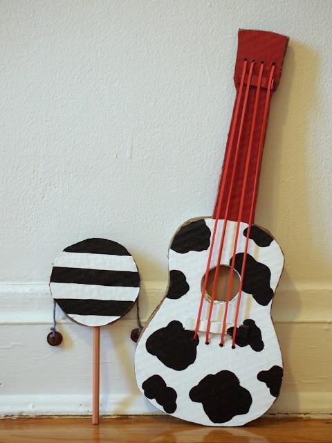 Guitarra terminada