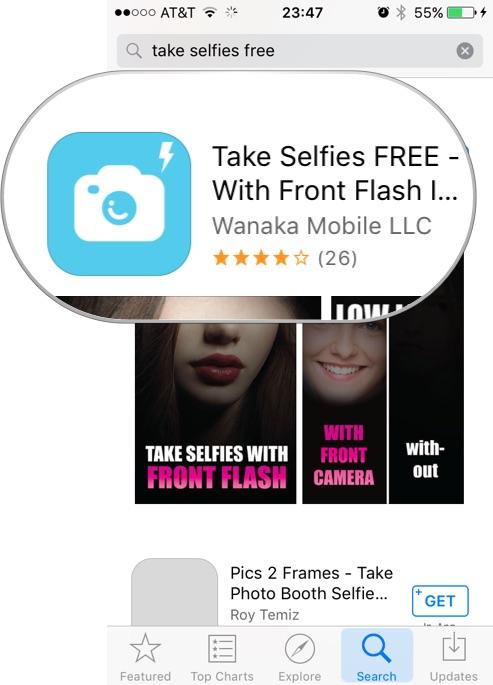 Aplicación - Selfies