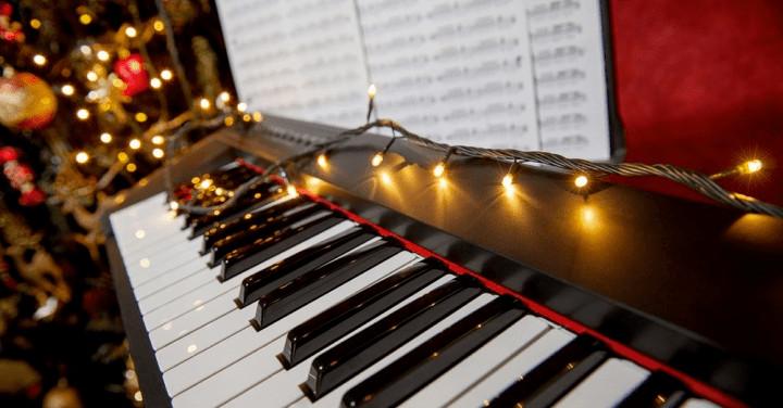 Canciones navideñas fáciles para piano