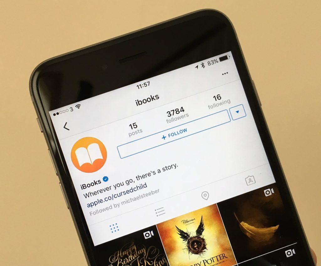 iBooks en Instagram