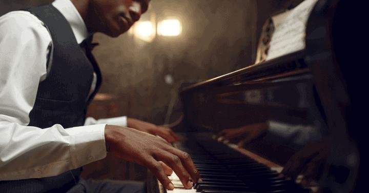 Aprende acordes de piano de jazz como principiante