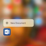 Microsoft Office para iOS agrega soporte para 3D Touch, `` anotar con tinta '', etc.