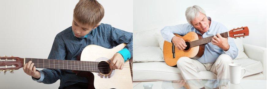 ¿Existe un límite de edad para aprender a tocar un instrumento musical?