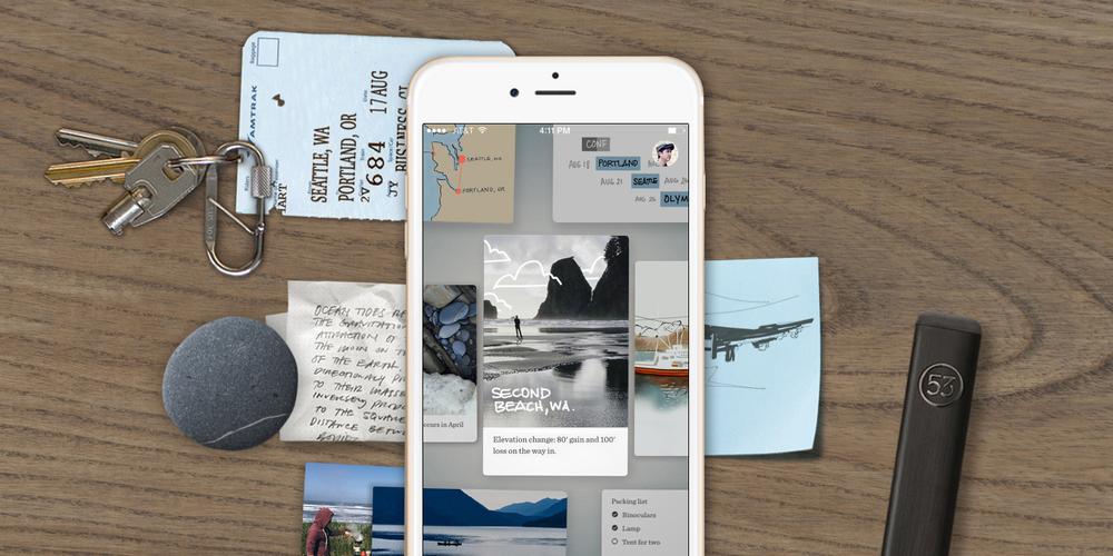 Papel de FiftyThree para iPhone