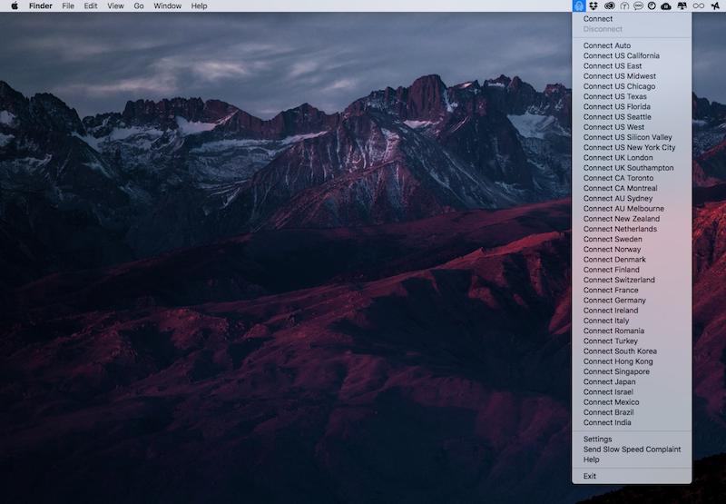 Acceso privado a Internet de la aplicación Mac 4