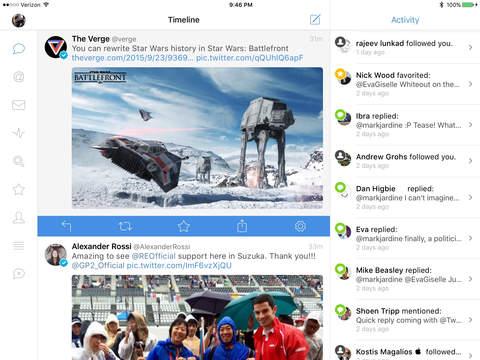 Tweetbot 4 para iPad