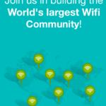 WifiMapper le ayuda a encontrar puntos de acceso Wi-Fi gratuitos en cualquier parte del mundo