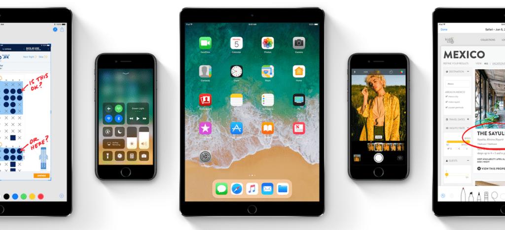 Funciones de iOS 11