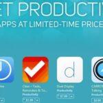 """Apple lanza la oferta en la tienda de aplicaciones """"Get Productive"""" y ofrece descuentos en varias aplicaciones de productividad"""