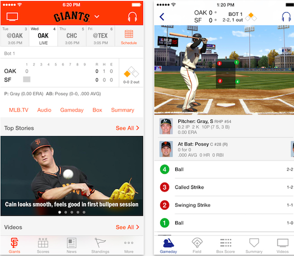 Imagen de la aplicación MLB At Bat