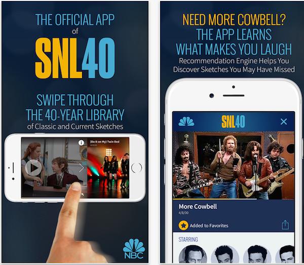 Aplicación de iPhone de imagen SNL