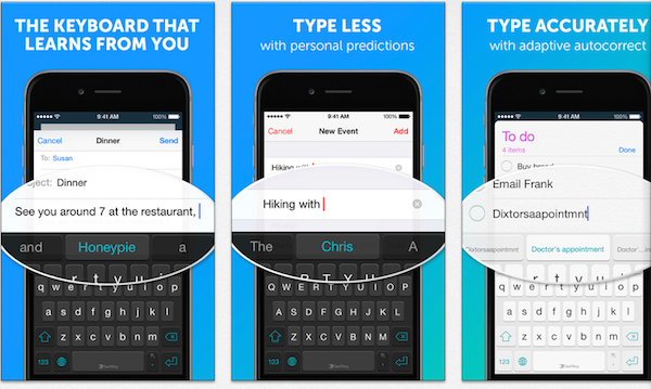 Teclado SwiftKey para iOS