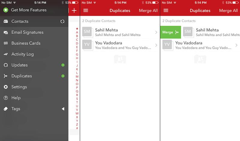 contactos duplicados iphone 3