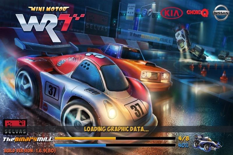 Mini carrera de motor WRT