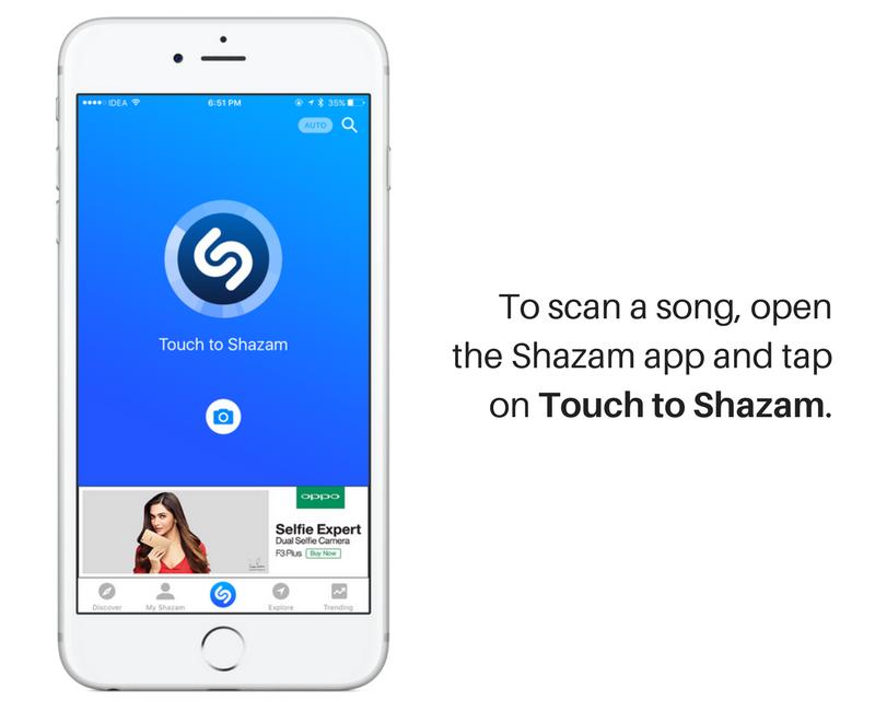 shazam agrega automáticamente 2 canciones
