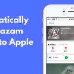 Cómo crear automáticamente una lista de reproducción de Apple Music con las canciones que etiquetó con Shazam