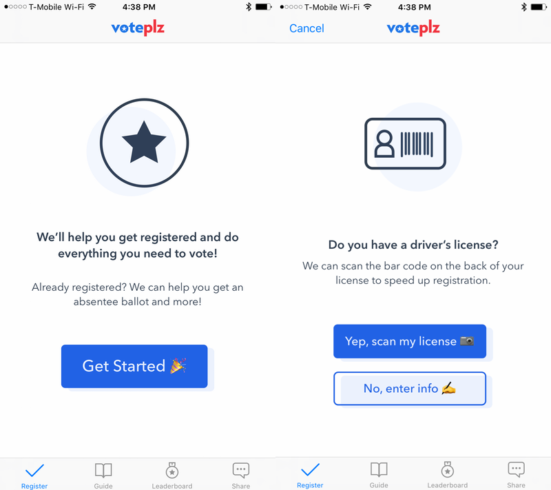 voteplz-registrarse-aplicación