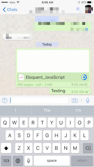 Compartir conversación de WhatsApp 3