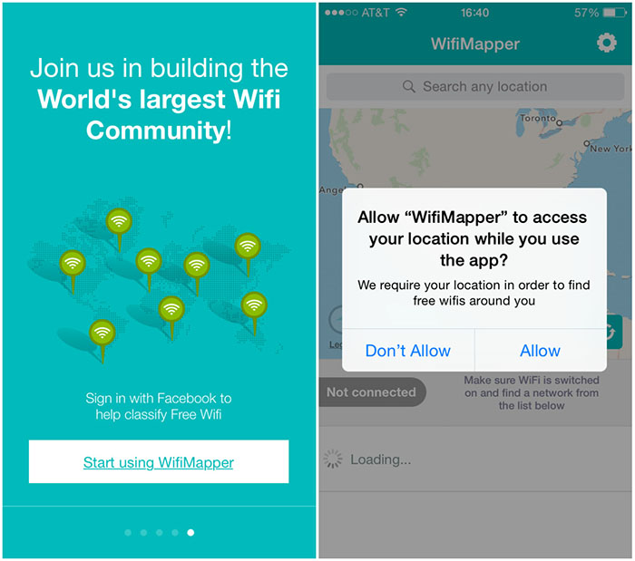 WiFiMapper - Inicio