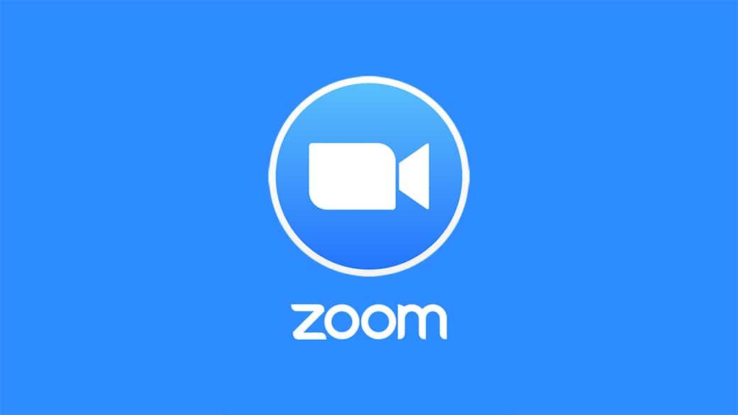 Logotipo de videollamada de zoom