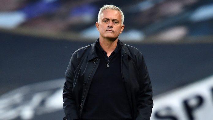 José Mourinho, entrenador del Tottenham