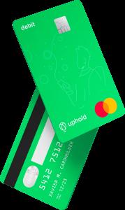 Tarjeta de débito Uphod