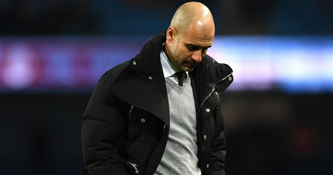 Pep Guardiola, entrenador de Phil Foden