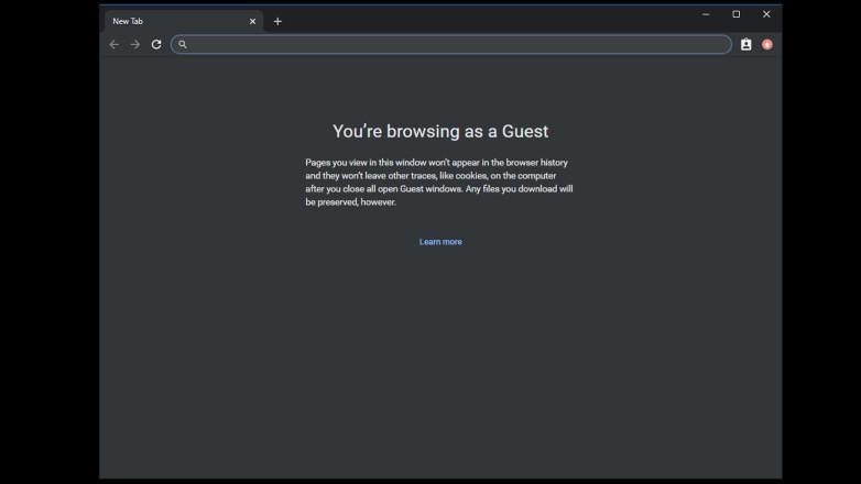 Comparte Chrome con el modo de invitado