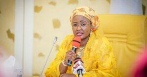 Aisha Buhari finalmente rompe su silencio