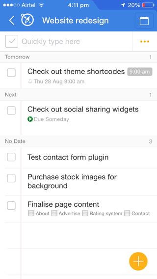 Awesome Note es una poderosa aplicación para tomar notas, pero puede manejar tareas con un poco de configuración