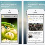 Aplicación Bing Search actualizada para iOS 8 con la extensión de traducción de Safari y más