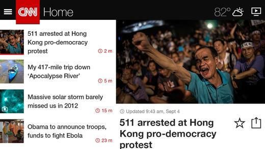 Lado dividido de CNN