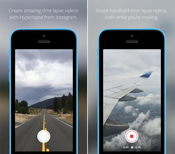 Aplicación Hyperlapse para iPhone