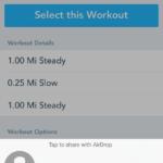 La actualización RunKeeper agrega soporte para seguimiento de movimiento en segundo plano, uso compartido de AirDrop y más