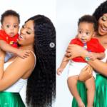 Ned Nwoko comparte hermosas fotos de su esposa Regina Daniels y su hijo Munir