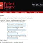 Cuenta Perfect Money: cómo realizar pagos P2P y B2B con Perfect Money