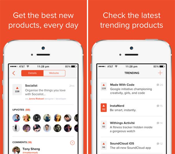 Búsqueda de productos de aplicaciones para iPhone