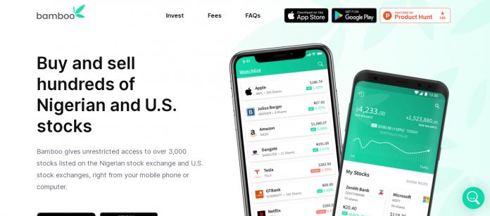 Revisión de la aplicación Invest Bamboo