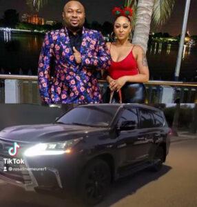 Olakunle Churchill le dio a su esposa, Rosy Meurer, un Lexus LX 570 2021 como regalo de empuje (ver fotos)