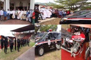 """Lanzamiento del equipo de seguridad """"Onicha Ado"""" en Onitsha, estado de Anambra, para combatir la inseguridad"""